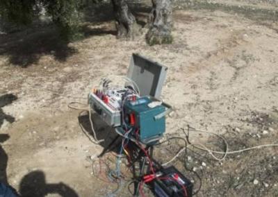 Estudio Hidrogeológico mediante Geofísica para ampliación de pozo de agua en Iznalloz (Granada)
