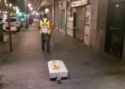 Georadar para detección de anomalías en el Centro de Granada