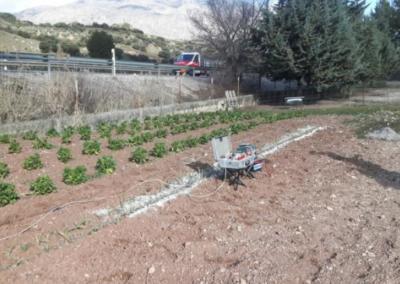 Estudio Hidrogeológico mediante Geofísica para pozo de extracción de aguas subterráneas en Huelma (Jaén).