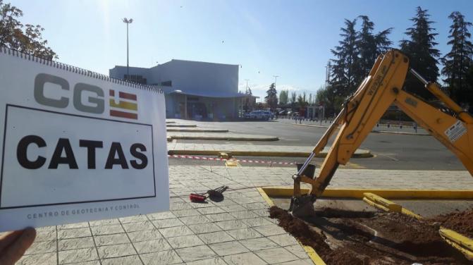 Estudio Geotécnico para ampliación de Terminal de Autobuses en el Aeropuerto de Granada