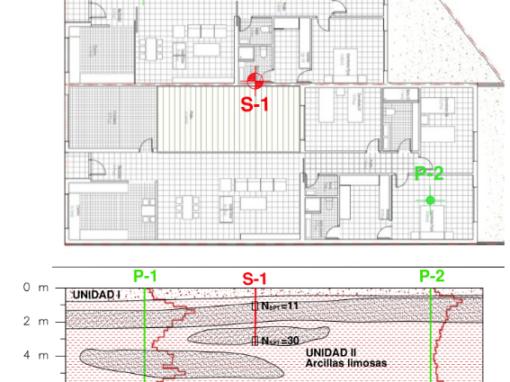 Estudio Geotécnicos para 2 Viviendas Unifamiliares en C/ Pedrizas de Albolote (Granada)