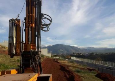 Estudio Geotecnico para Viviendas Unifamiliares Adosadas en El Serrallo (Granada)