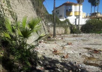 Reconocimiento Geofísico para detección de anomalías bajo cimentación de muro en Torremolinos (Málaga)