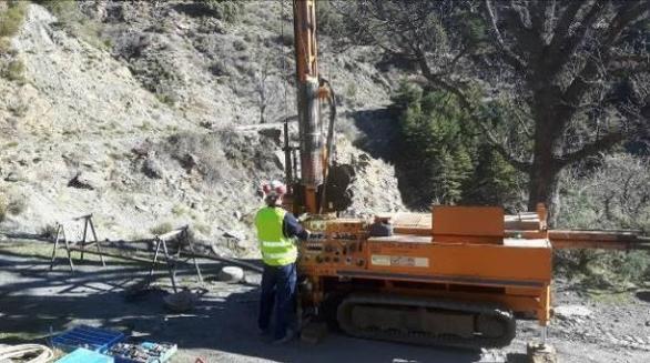 Estudio Geotécnico para Continuidad del Camino Principal de la Alpujarra. Sierra Nevada (Granada)