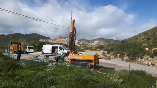Estudio de Estabilidad e Instalación de piezómetros de control para Sellado del Vertedero de Inertes de Líjar (Almería)