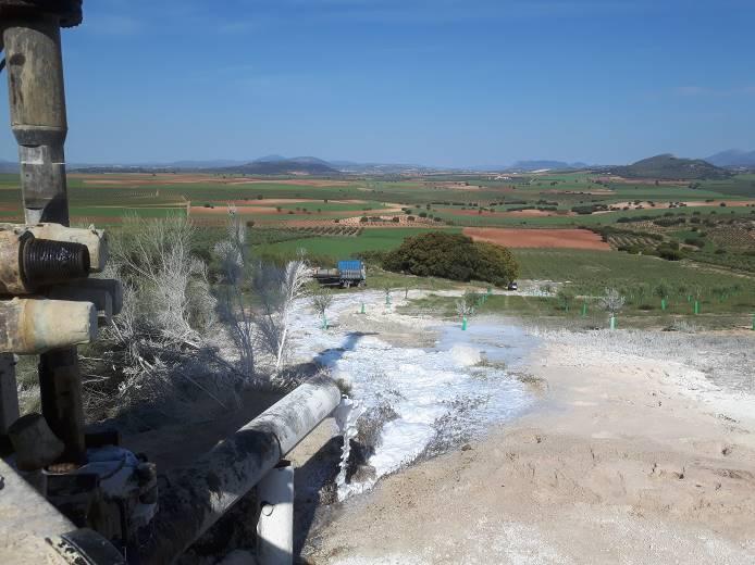 Proyecto de Labores subterráneas para captación de aguas y Memoria Técnica para concesión de regadío, Motril (Granada)