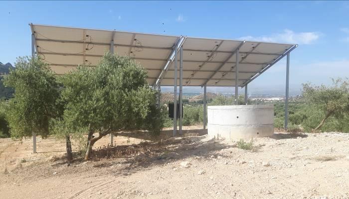 Estudio Hidrogeológico y Geofísico para pozo de extracción de aguas subterráneas en Caparacena, Atarfe (Granada).