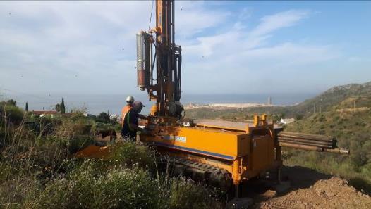 Estudio Geológico-Geotécnico y Estudio de Estabilidad de Taludes para Proyecto de construcción de Planta de RCD's y Vertedero de Inertes en Rincón de la Victoria (Málaga)