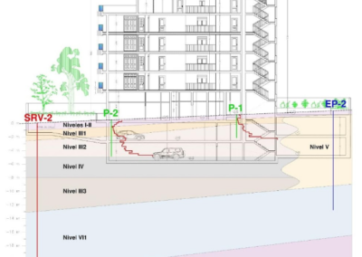 Estudio Geotécnico para Edificio de 36 Viviendas en Benalmádena (Málaga).