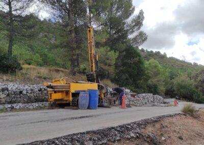 Anejo de Geología y Geotecnia para Carretera Transversal de Las Villas (Jaén)