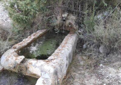 Estudio Hidrogeológico de posible afección a cauce público desde captación en Manantial Sierra de El Moncayo, Huescar (Granada).