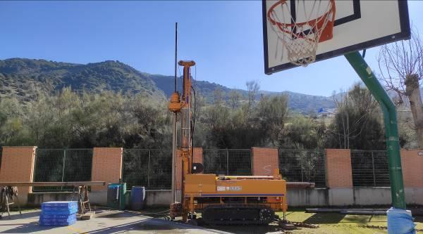 Estudio Geotécnico para Cubierta de Pista Deportiva en CEIP El Zargal, Cenes de la Vega (Granada)