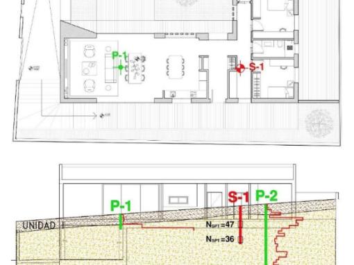 Redacción de Estudios Geotécnicos para Viviendas Unifamiliares en solares de La Zubia, Monachil y Atarfe (Granada).