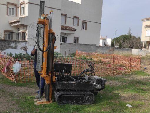 Redacción de Estudios Geotécnicos para Viviendas Unifamiliares en solares de Ogíjares, La Zubia, y Cañadas del Parque-Dilar (Granada).