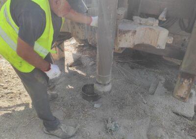 Ejecución de Piezómetro de Control de 50 m en vertedero de RSU, Albox (Almería)