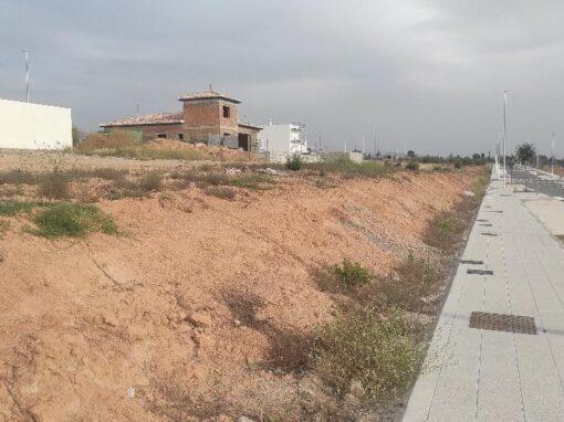 Redacción de Estudio Geotécnico para Viviendas Unifamiliares en Urbanización La Nativa de El Chaparral, Albolote (Granada).